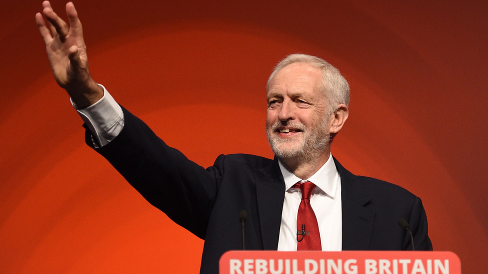 Labour is 'ready' to govern, Jeremy Corbyn tells party conference