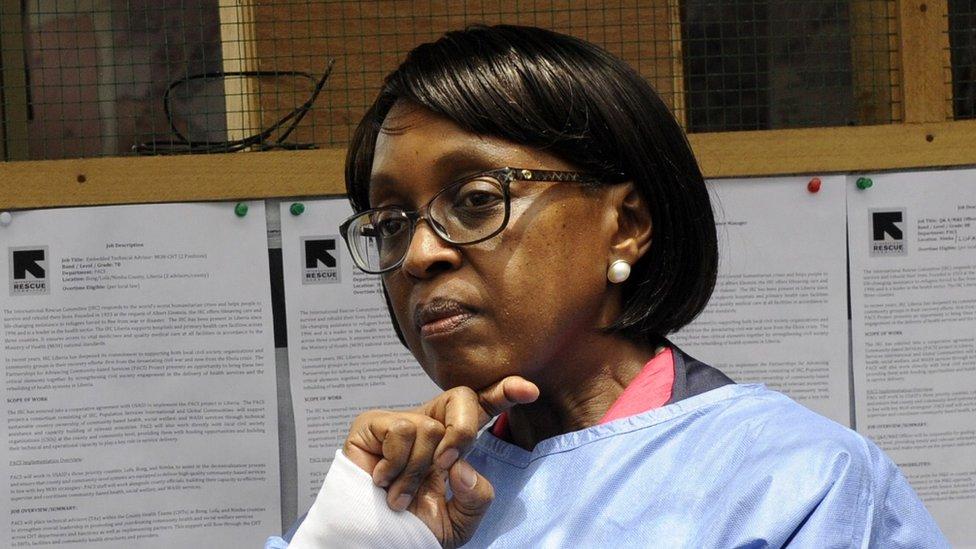 Matshidiso Moeti, directora regional para África de la OMS, en 2015