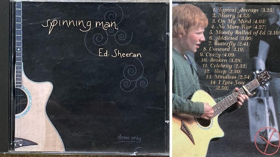 Rare CD by Ed Sheeran