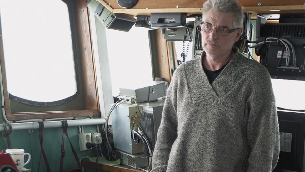 Captain Bjorne Kvernmo