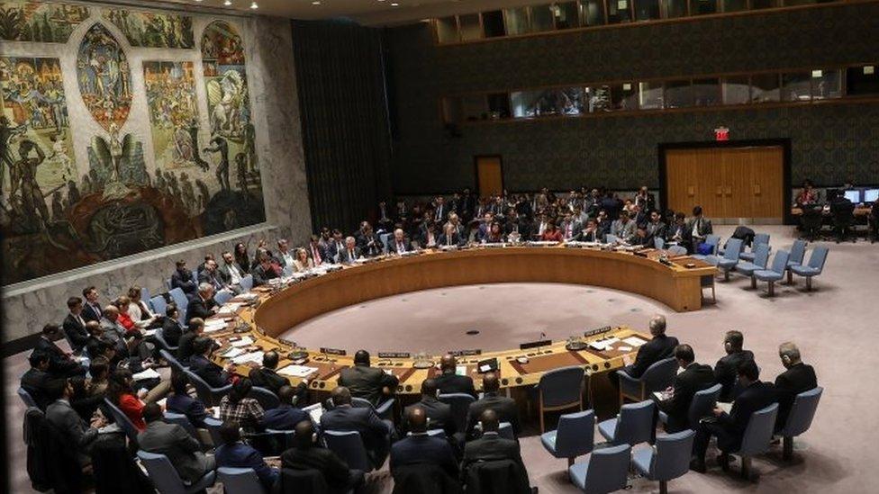 تصويت في مجلس الأمن