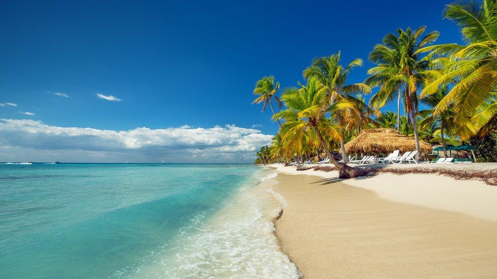 Playa en República Dominicana.