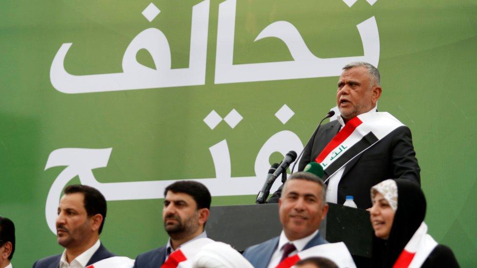 """هادي العامري زعيم تحالف """"الفتح"""""""