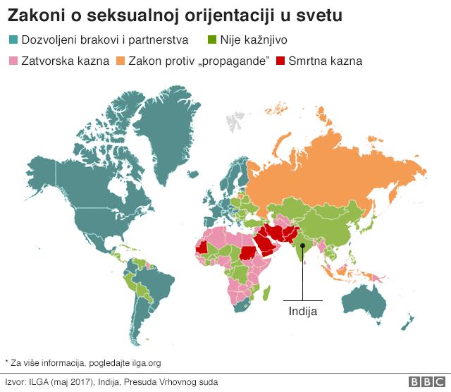 zakoni o seksualnoj orijentaciji u svetu