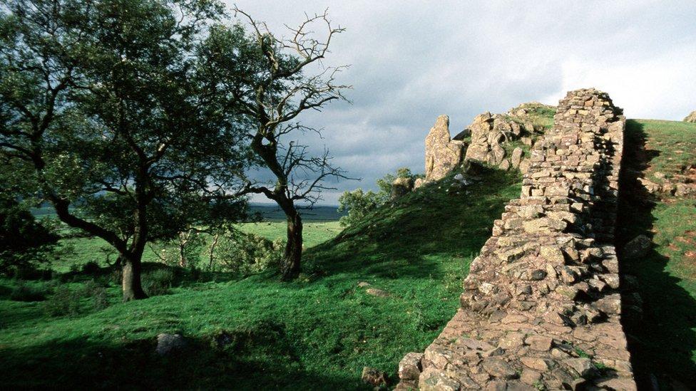 Delovi Hadrijanovog zida