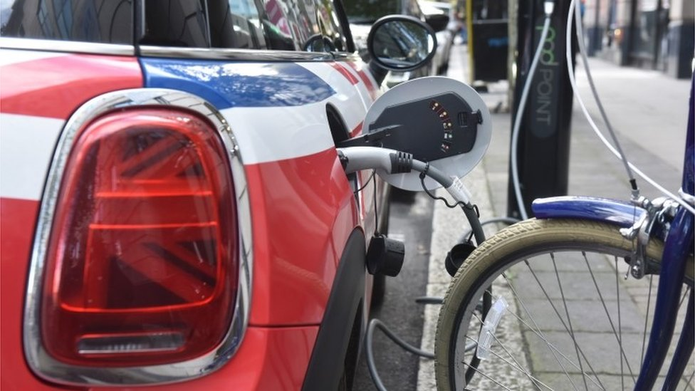 EV charging point generic photo