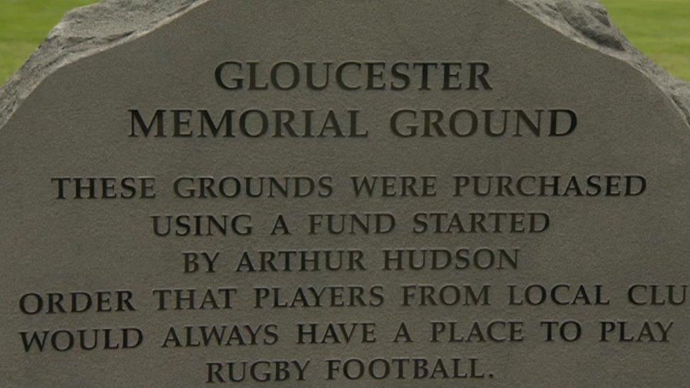 107014343 de51 - Tribute to fallen Gloucester football players