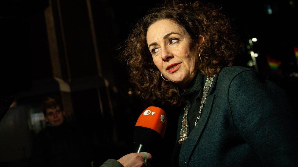Gradonačelnica Amsterdama, Femke Halsema, 9. januar u Amsterdamu