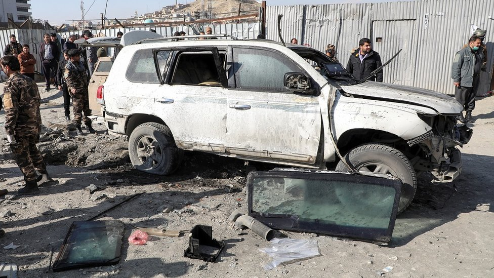 Bomb, shooting attack in Kabul kill three, say Afghanistan officials