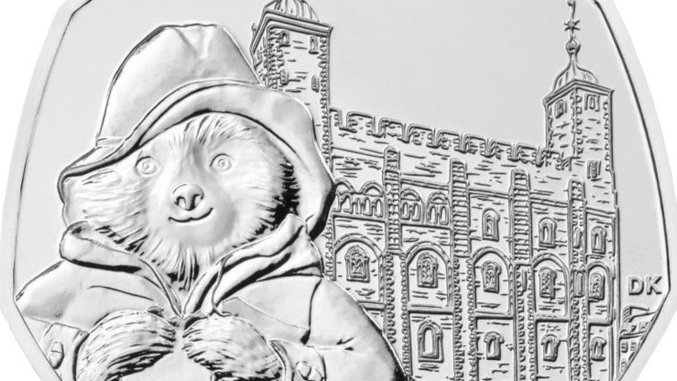 Paddington at the Tower 50p coin