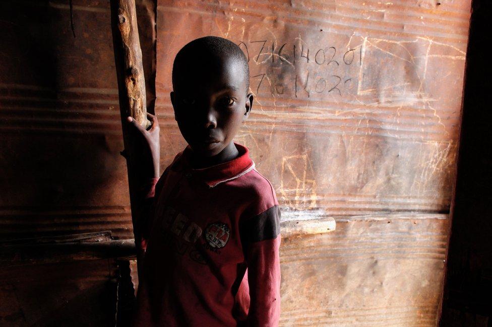 Kayole'de bir çocuk
