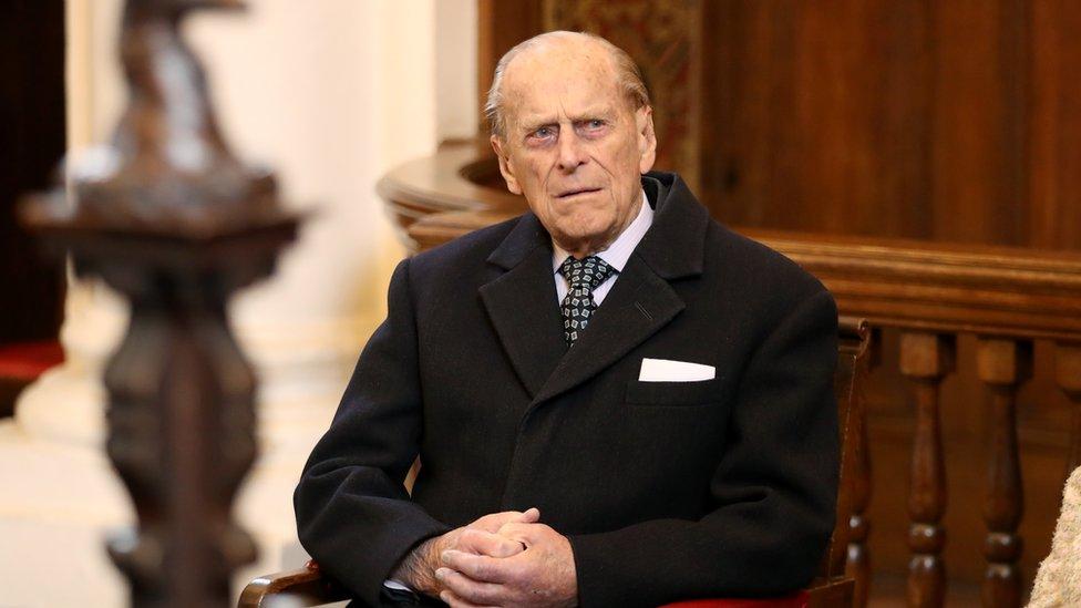 Vojvoda od Edinburga u domu za starije muškarce Čarterhaus