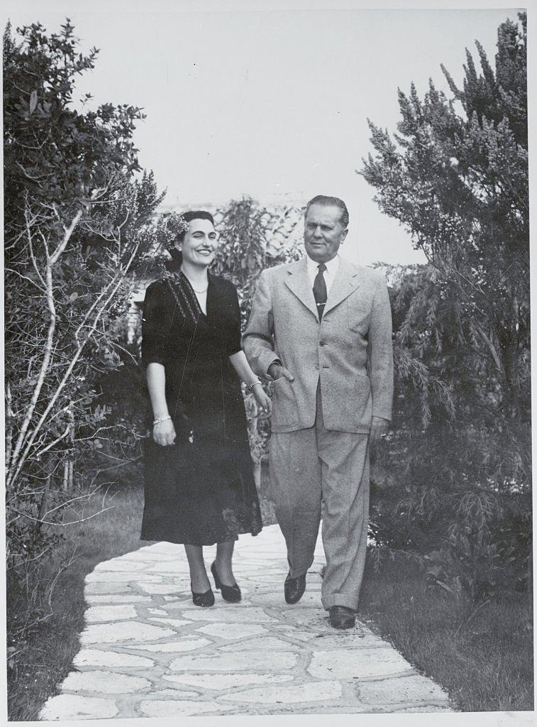 Tito i Jovanka na moru