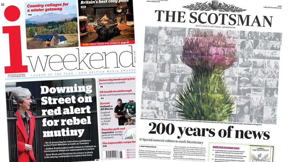 Rescue planned for Scotsman publisher