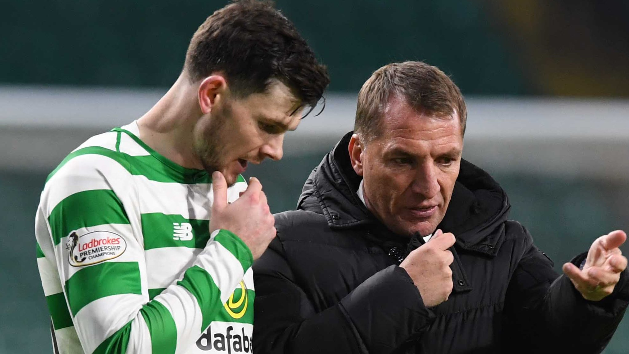 Oliver Burke: On-loan Celtic player 'not yet finished article' - Rodgers