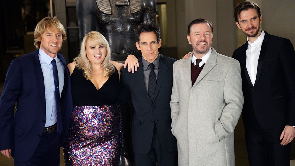 Night at the Museum cast