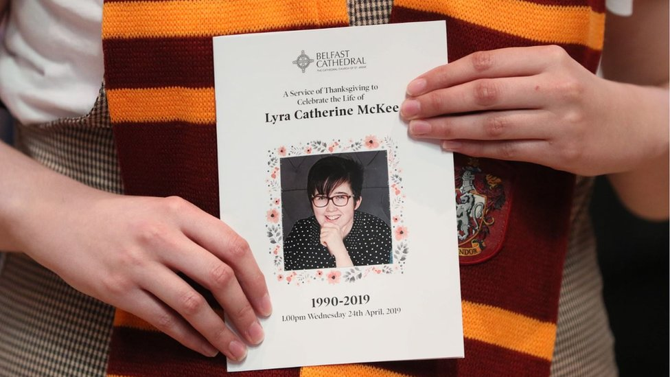 Lyra McKee: Crimestoppers offer reward for information