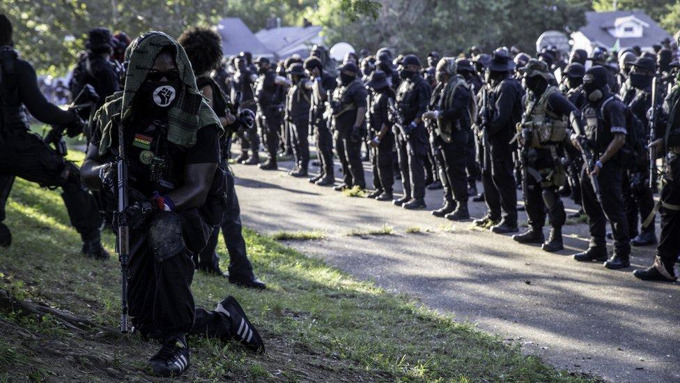 Milicia negra NFAC