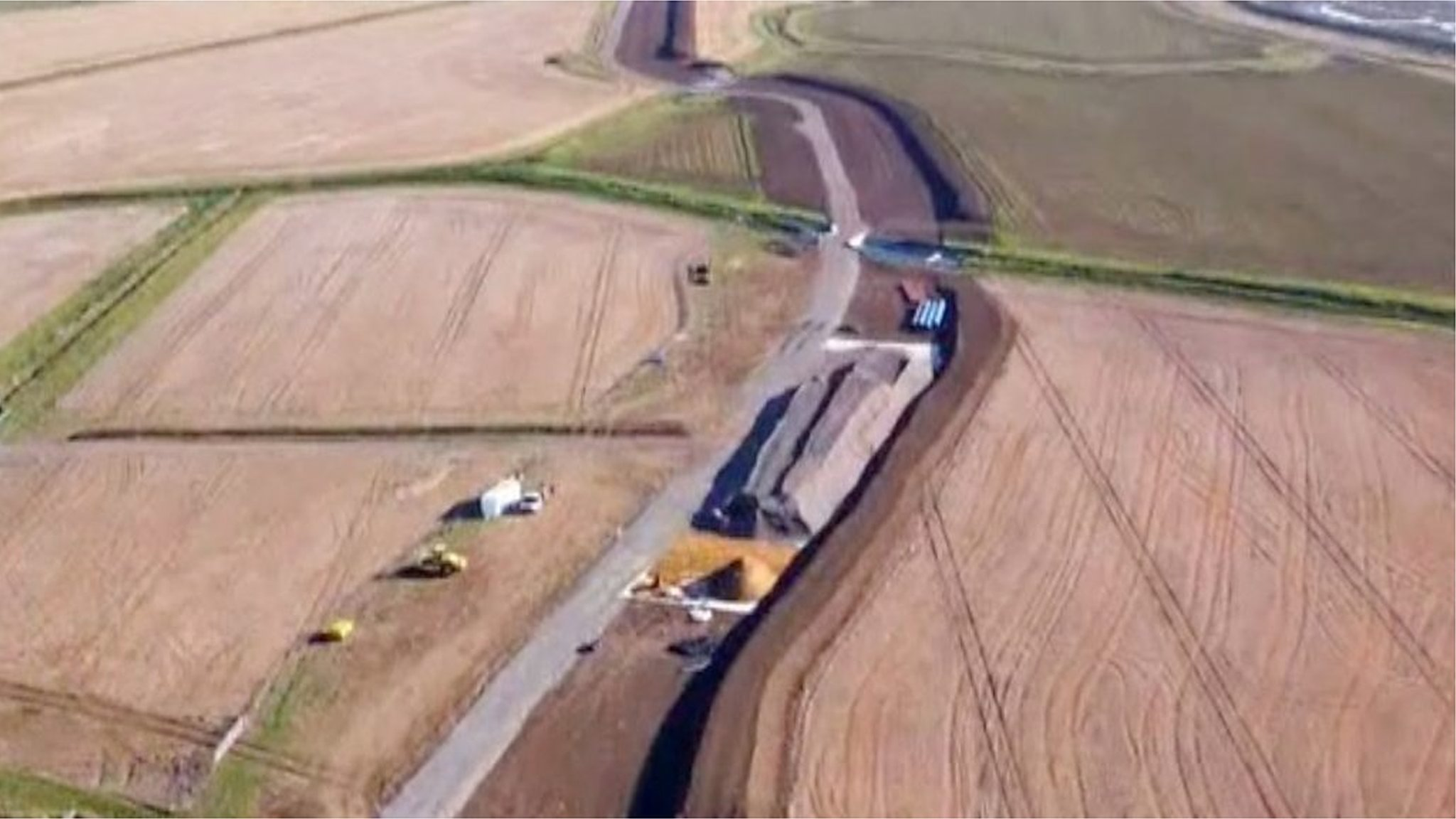 The 20-mile tunnel being dug under Suffolk countryside