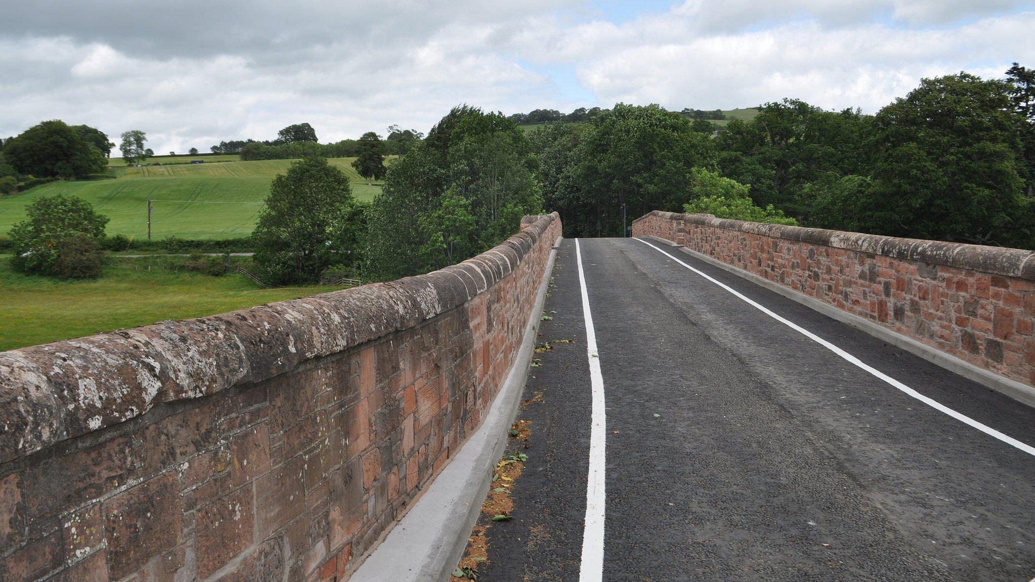 Historic bridge near Melrose reopens ahead of schedule