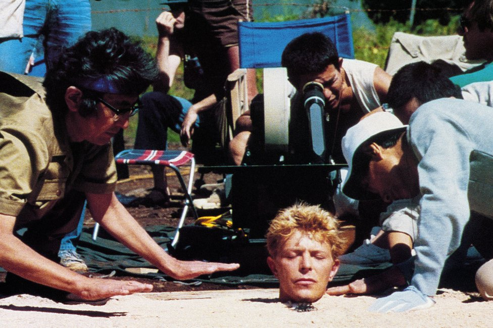 David Bowie on location in New Zealand for the 1983 film directed by Nagisa Oshima