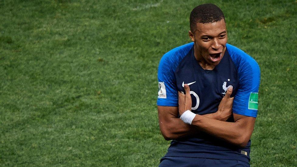 Una de las anotaciones de Kylian Mbappé en el Mundial se convirtió en el momento más tuiteado del campeonato.