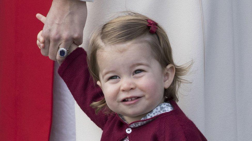 شارلوت، أميرة كمبرج