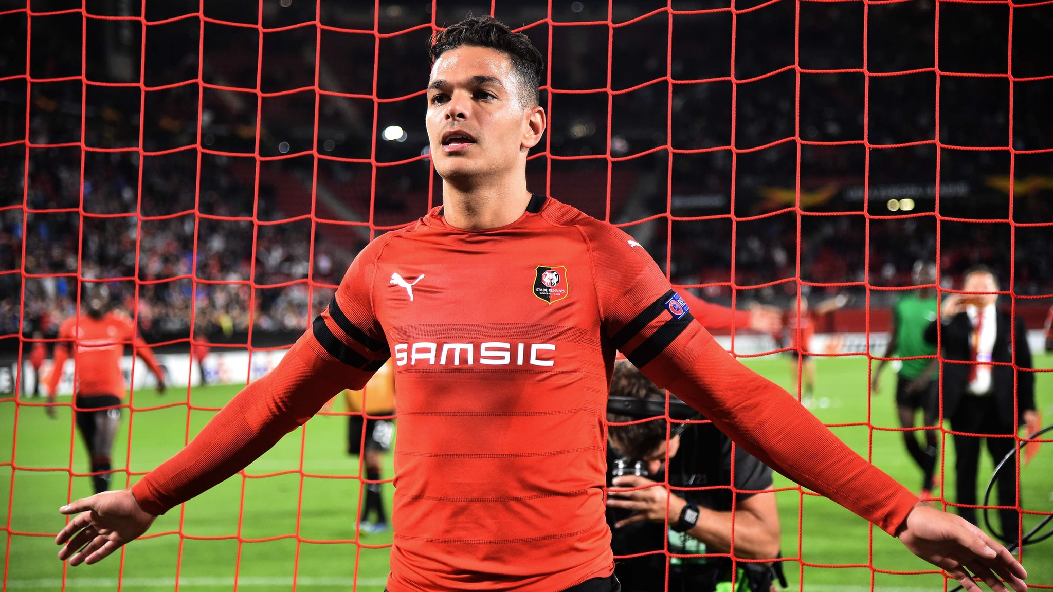 Rennes 2-1 Jablonec: Hatem Ben Arfa scores on return to football