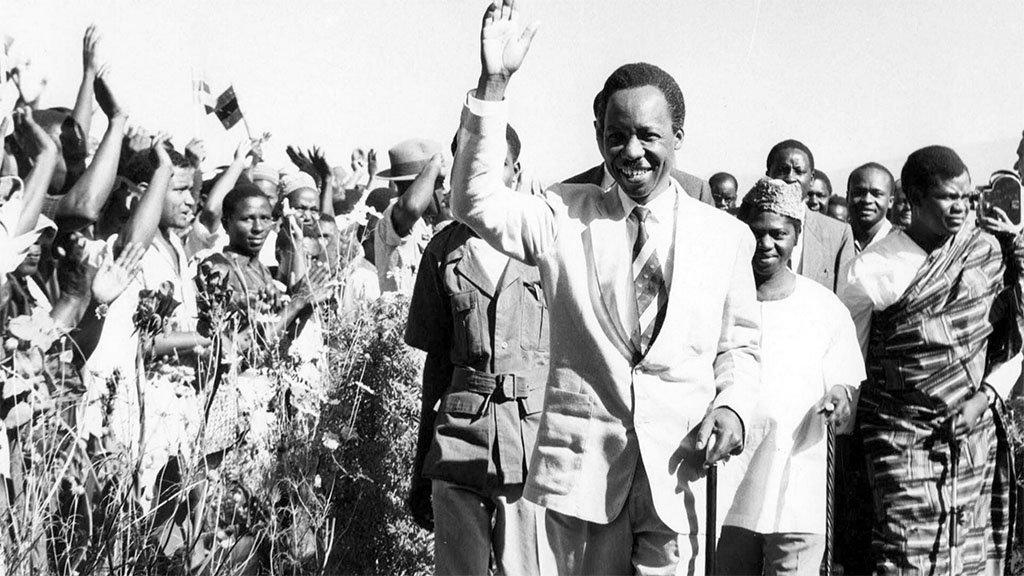 Former Tanzanian President Julius Kambarage Nyerere