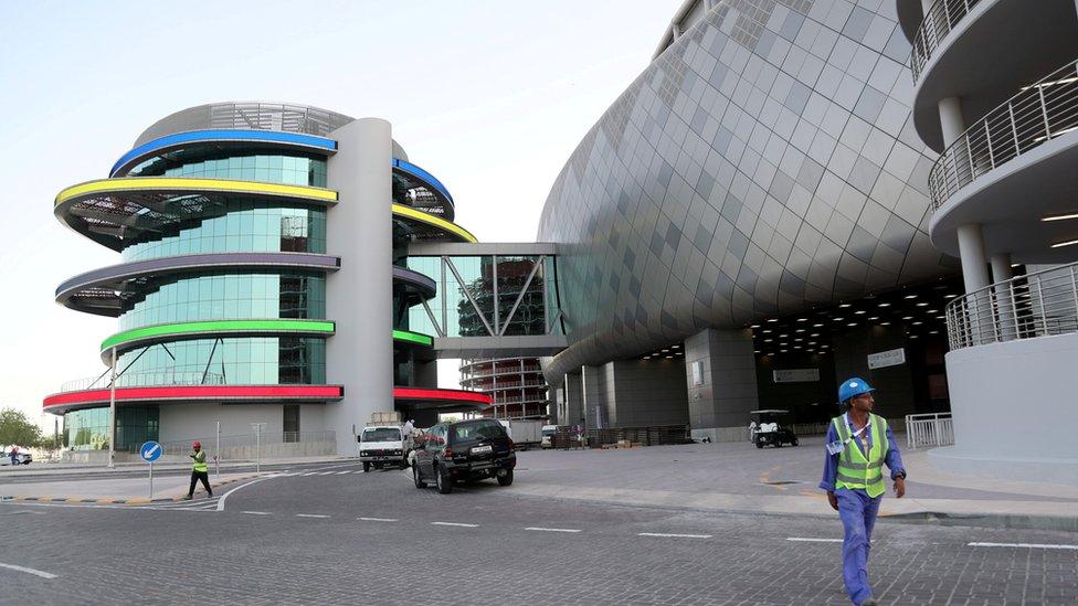 استاد خليفة الدولي في الدوحة