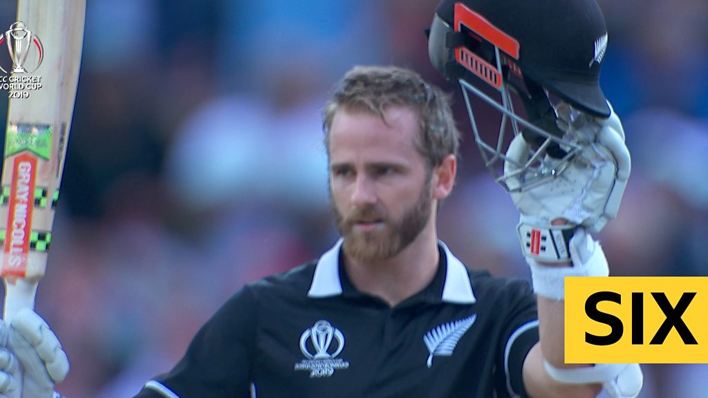 Cricket World Cup: Kane Williamson guides New Zealand to win v South Africa