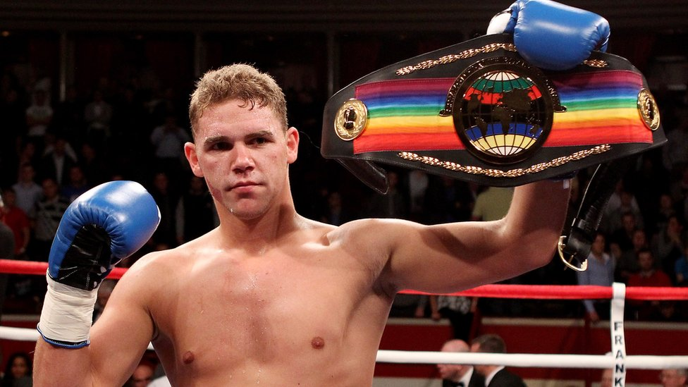 Billy Joe Saunders sorry after offering woman drugs