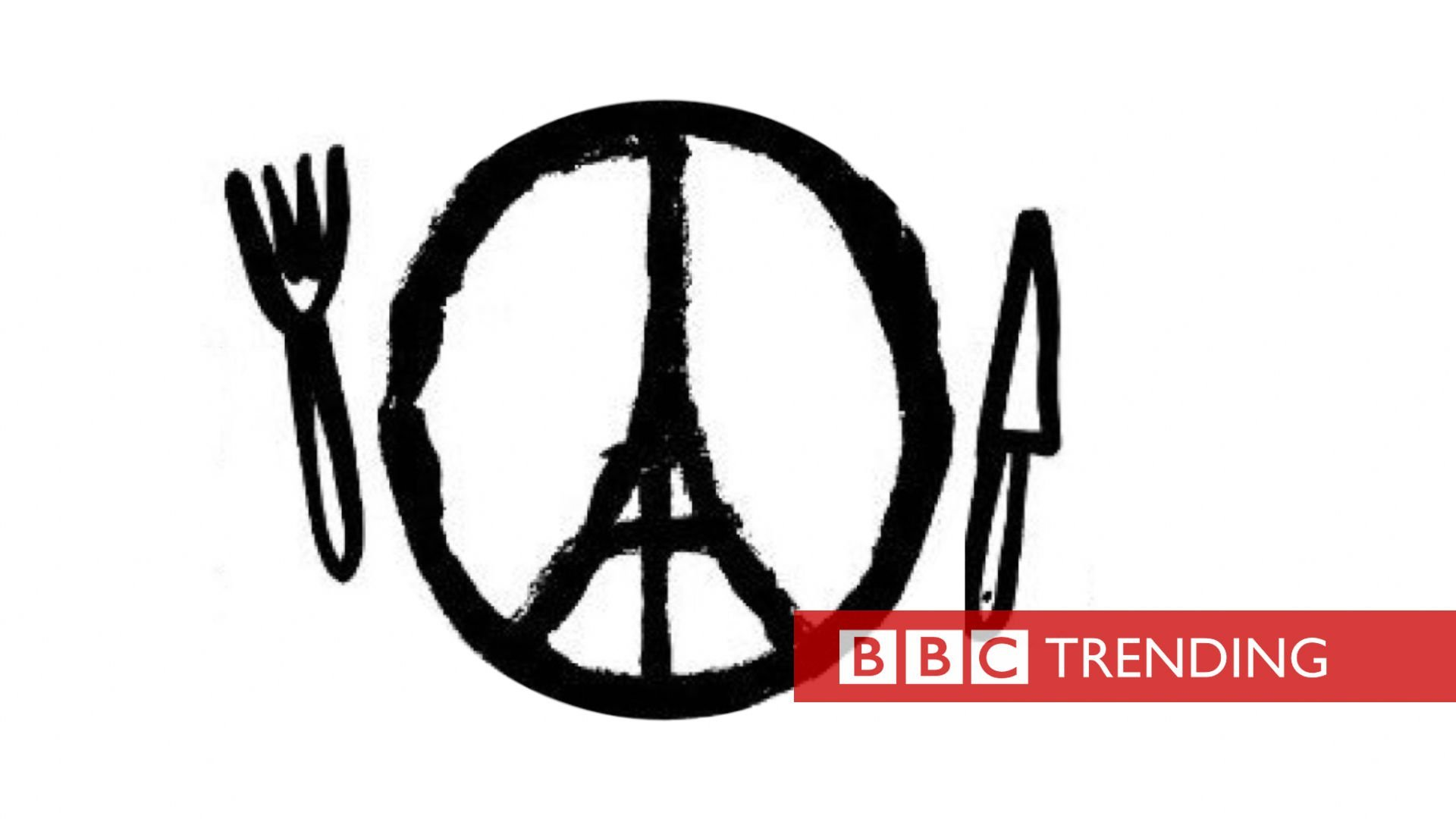 Paris logo with knife and fork
