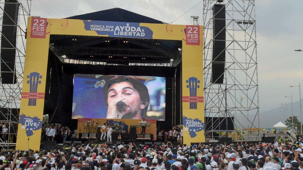 Concierto Venezuela Live Aid