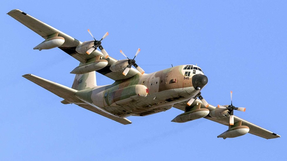 Izraelski avion C130 Herkules