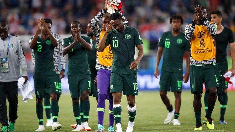 Selección de Nigeria