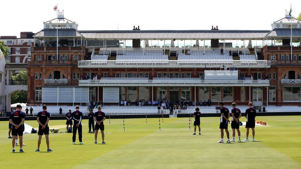 Cricketers at Lord's