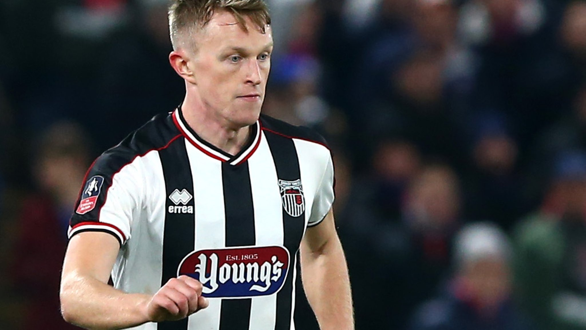 Luke Hendrie: Grimsby sign Shrewsbury defender on permanent deal