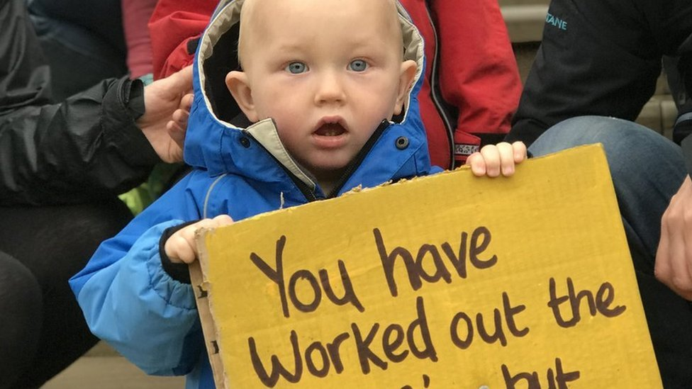 Norfolk children's centre closures: Protesters lobby council