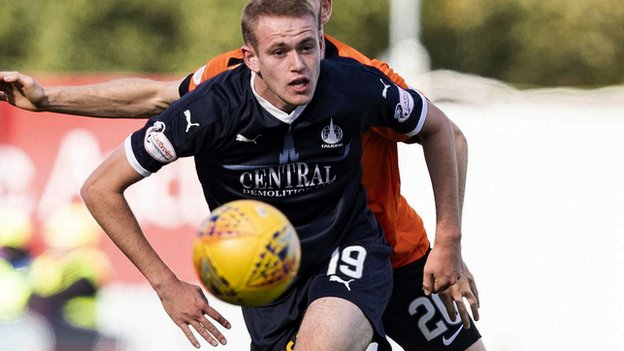 Dunfermline Athletic 0-1 Falkirk: Zak Rudden goal gives visitors rare win