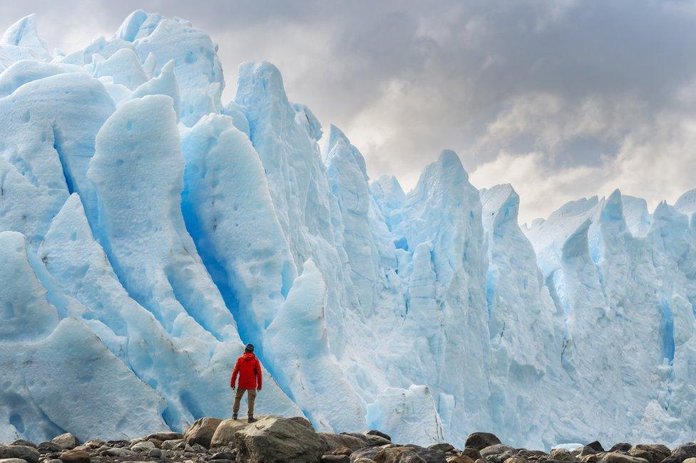 Glaciar en Argentina