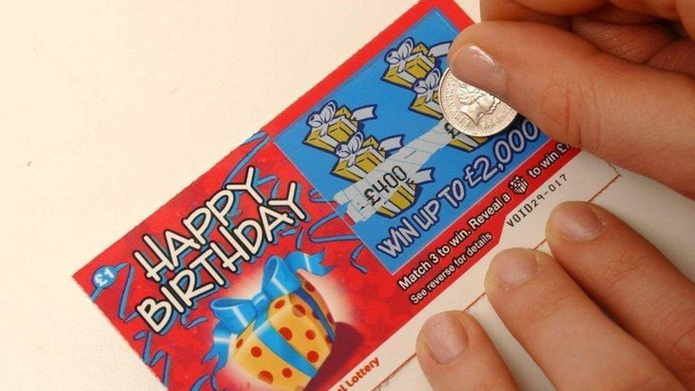 gioco della lotteria