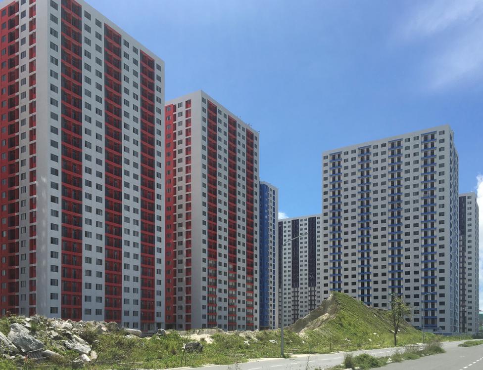 中國資金帶動了當地島嶼房地產和商業開發的繁榮景象。
