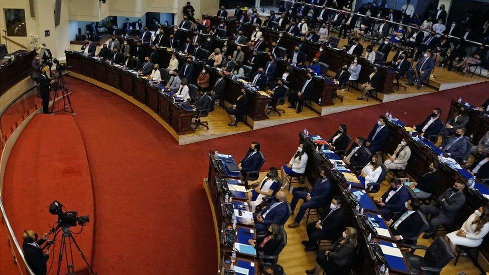 congreso salvadoreño