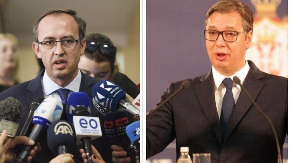 Hoti i Vučić