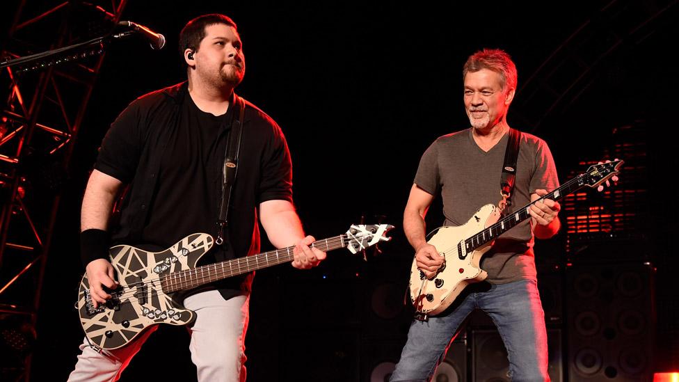Eddie Van Halen guitars sell for $422000
