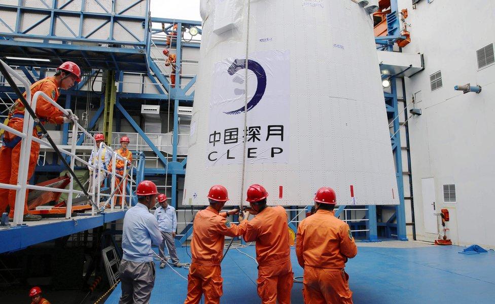 Queqiao spacecraft