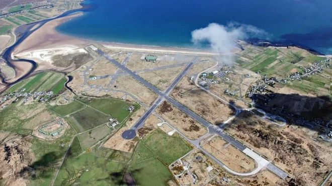 Lewis crofters and airport firm in land dispute