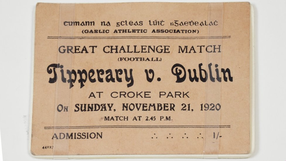 An image of the match day ticket