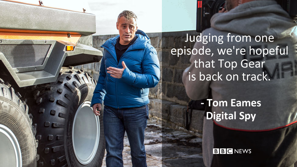 Digital Spy's review: Judging from one episode, we're hopeful that Top Gear is back on track